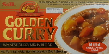 S&B Golden Curry Mild