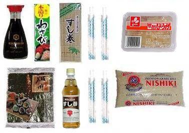 japanische lebensmittel sushi starter set f r anf nger. Black Bedroom Furniture Sets. Home Design Ideas